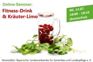 "Online-Seminar ""Fitnessdrink und Kräuterlimo"""